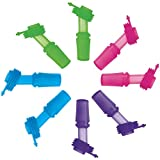 SINONIA Kids Bite Valves Fit All CamelBak Eddy Kids Water Bottle (8Pack - Mixed Color)