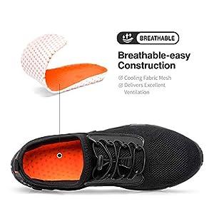 FANDEE Men's Minimalist Trail Running Shoes Workout Athletic Hiking Walking Water Sneakers Jogging Gym Workout Cross Trainer Sneakers Lightweight Footwear