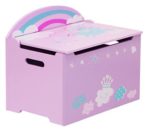 IB - Style - Meubles enfants UNICORN | 3 combinaisons | Coffre à jouets - Chambre enfant Meuble enfant Mobilier Chaise d'enfant Baby
