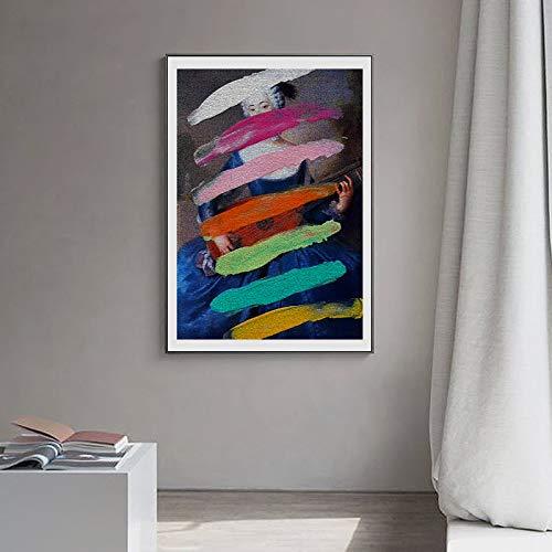 Klassische Malerei Plakate und Drucke Wandkunst abstrakte Leinwandbilder Wandbilder für Wohnzimmer Home Decoration 40x50cm