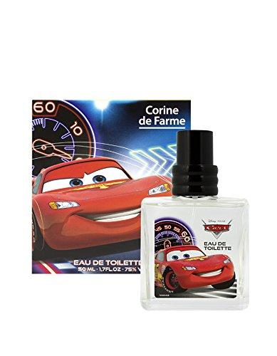 Corine De Farme   Parfum pour Enfant Cars   Eau De Toilette Disney   Formulation Garantie Clean Beauty   Fabrication 100% Française   50 ml