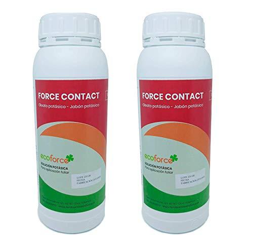 CULTIVERS Jabón Potásico Bio 2 L. Actúa por Contacto. Múltiples usos, Solución Potásica 100%...