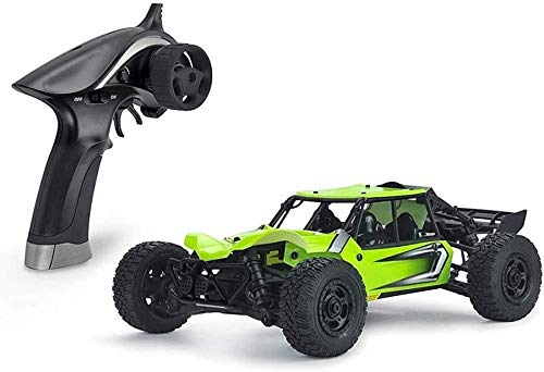 NBVCX Sports Outdoors 1/18 Scale High-Speed Remote Control Car Professional 4WD Off-Road RC Racing Vehicle Rechargeable Electric Auto Model for Adults & Kids 2.4GHz