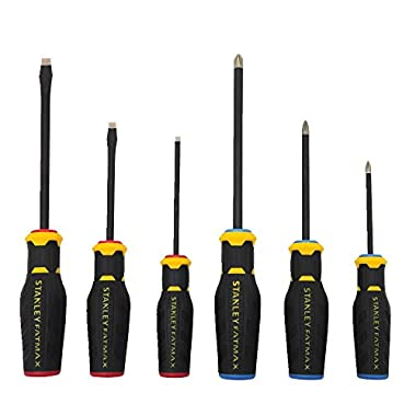 Stanley FMHT62052 6 Piece FatMax Diamond Tip Screwdriver Set
