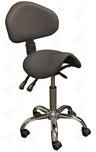 SkinAct Esthetician Saddle Stool