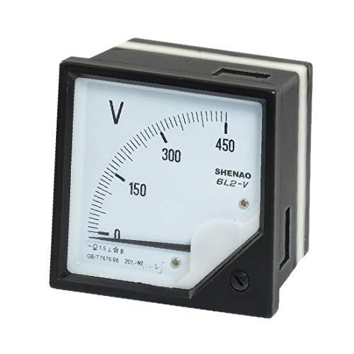 meter voltmeters X-DREE Class 1.5 AC 450V Analog Voltage Panel Meter Voltmeter Gauge (6599733c-a222-11e9-8d7c-4cedfbbbda4e)