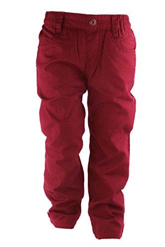 Lupilu® Klein Kinder Thermohose - Gerades Bein, bequemer Gummizugbund, 5-Pocket-Style Rot 86