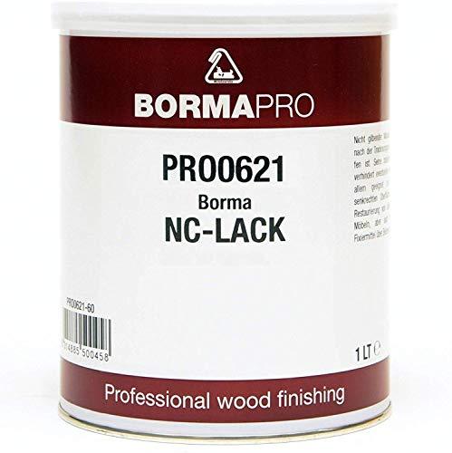 BORMA-PRO NC Transparent Lack 1 Liter (40 Seidenmatt)