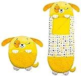 Thstheaven Almohada grande para niños con pañales y saco de dormir, almohada 2 en 1 para siestas, cómoda y divertida, plegable y suave, saco de dormir para niños de 3 a 6 años