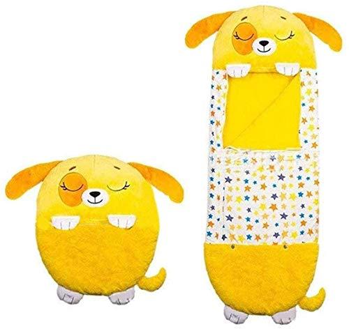Thstheaven Almohada grande para niños con pañales, almohada y saco de dormir, almohada de siesta 2 en 1, cómoda y divertida, plegable y suave, saco de dormir para niños