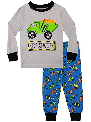 Harry Bear Pijamas para Niños Camión Ajuste Ceñido Multicolor 2-3 Años