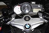Kit di conversione e rialzo manubrio con ripresa, versione corta 50 mm, per BMW K1200S K1200R + adattatore manubrio fino al 2006 senza cavo frizione