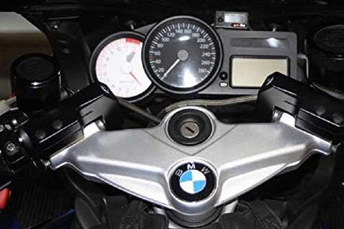 Kit de conversión de manillar y elevador de manillar con desalineación, versión corta, 50 mm más cerca, ABE para BMW K1200S K1200R + adaptador de manillar a partir de 2007 con cable de embrague.