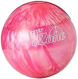 Brunswick TZone Indigo Swirl - Bola de Bolos (14 Libras), Color Rosa, Talla UK: 14s LB LB