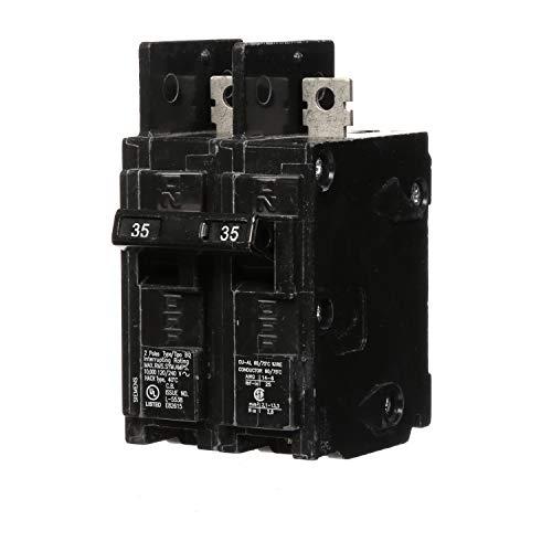 Siemens bq2b03535-amp doble pole 120/240-volt poste de poste de 10KAIC en/out interruptor