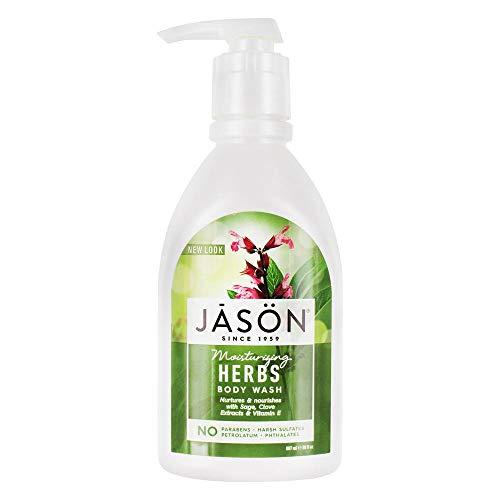 Jason Natural Products Body Wash Herbal Satin 30 Fz