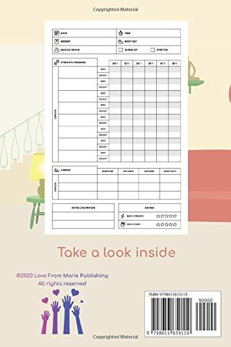 Postnatal Fitness Tracker   Home Workout Logbook: Postnatal gift for women     Strength And Resistance Training… 2