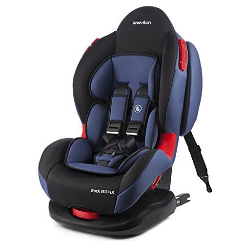 BABYLON Seggiolino Auto Rock ISOFIX Seggiolino auto gruppo 1/2, seggiolino 9-25 kg (da 9 mesi a 7 anni). Seggiolino per bambini con Top Tether 5...