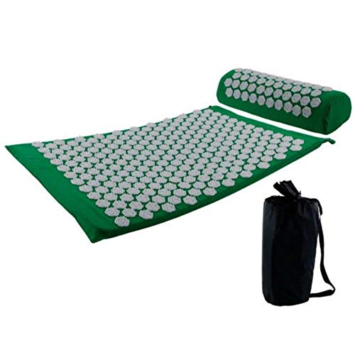 GEGAG Acupressuur Massage Bedmatten Set Massager Kussen Kussen Rug- en nekpijn Relief Lichaamspijn Stress Yoga Pad Massages