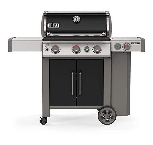Weber Barbecue a Gas da Giardino con Ripiani Laterali e Coperchio 61016129 EP-335 GBS Genesis II