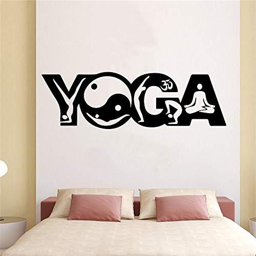 Lamubh Nette YogaWandaufkleber Wandkunst Dekor für Kinderzimmer Wohnzimmer Wohnkultur Wohnkultur Dekor Tapete...