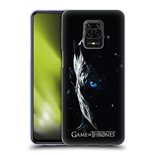 Head Case Designs Ufficiale HBO Game of Thrones Night King Immagini Promozionali Stagione 7 Cover in Morbido Gel Compatibile con Xiaomi Redmi Note 9 PRO