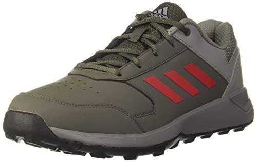 adidas Men's Wind Chaser Ii Utility Scarlet/Dove Grey Trekking Shoes-9 UK (43 1/3 EU) (9.5 US) (CM5919)