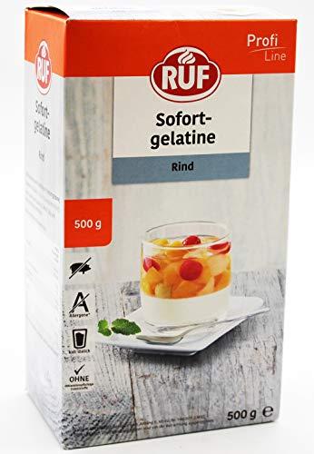 RUF Lebensmittelwerk Sofortgelatine Rind, 1er Pack (1 x 500 g)