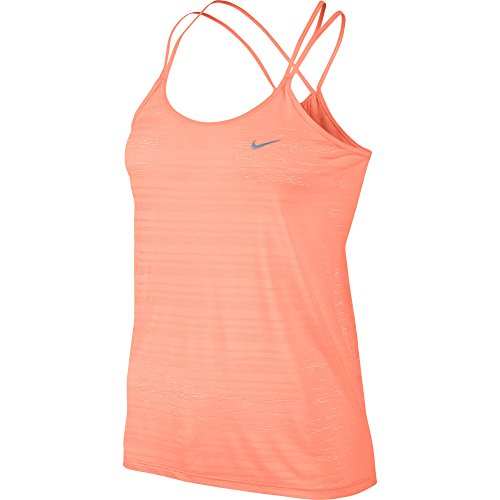 Nike Dames DF Cool Breeze Strappy Tank Top-Geel, Medium