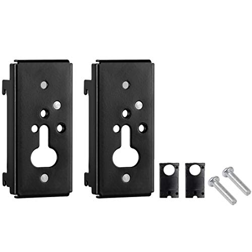 1 Pair of Black Wall Brackets for Bose SlideConnect WB-50 WB 50 - (aka UB 20-II/UB-20) Bose Lifestyle, Acoustimass, CineMate, and SoundTouch Systems Including ST520 ST525 525III ST535 535III CM520