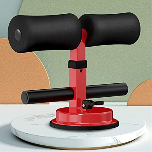 WWJ Extractor de pies, Asiento reclinable, tapete para Abdominales, Equipo de Abdominales de Fitness con Ventosa para el hogar, Estilo