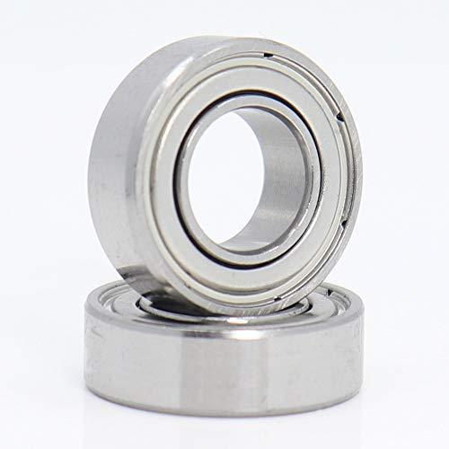 NO-LOGO Professional 10PCS 688ZZ Bearing 8 x 16 x 5mm Grade P4 Miniature Ball Bearings 688Z For 3D Printer Heatbed