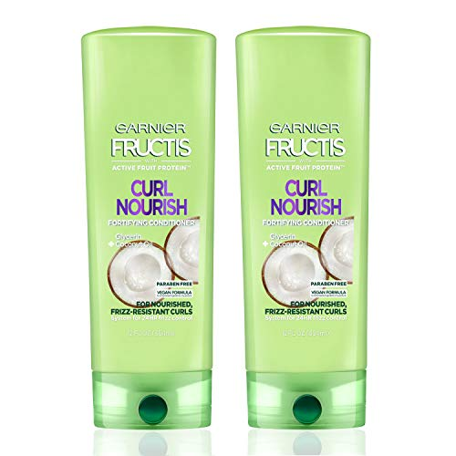 Garnier Hair Care Fructis Triple Nutrition Curl Nourish Conditioner, 12 Fluid Ounce (Packaging May Vary), 2 Count