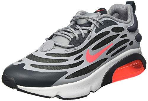 Nike AIR Max EXOSENSE, Chaussure de Course Homme, Particle Grey BRT Crimson Anthracite Photon Dust Iron Grey, 40 EU