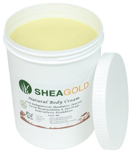 SheaGold Sheabutter kalt gepresst unraffiniert 1000gr.