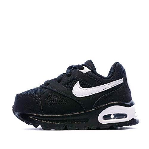 Nike Jungen Air Max IVO (TD) Sneaker, Schwarz/Weiß, 22 EU