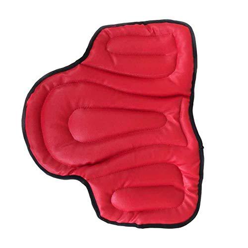 Alicer - Cuscino per sella REIT, resistente all'usura, ammortizzatore all'aria aperta, cuscino per sella in PU, imbottitura in spugna, Not null, Come mostrato in foto., 45 * 55 * 1,5 cm