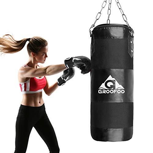 3. GROOFOO Saco de Boxeo Niños