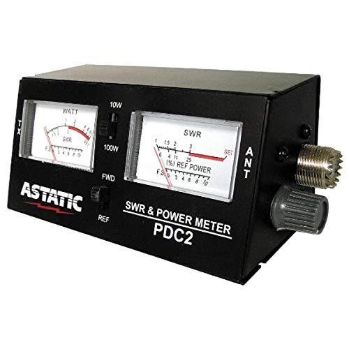 Astatic (302-PDC2) SWR/RF/Field Strength Test Meter , Black
