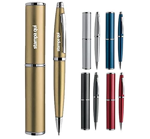 Penna Personalizzata con Nome o Frase Idea Regalo Uomo Donna per Laurea Anniversario Gadget Personalizzati