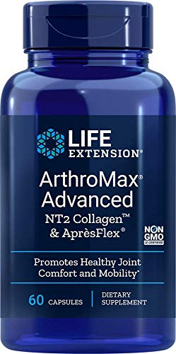 Life Extension Arthromax Advanced with NT2 Collagen & ApresFlex, 60 Capsules