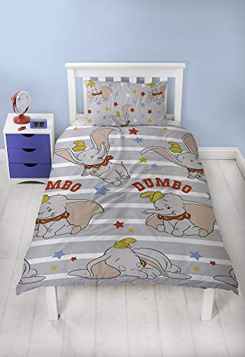 Dumbo Single Duvet & Pillowcase, Multi
