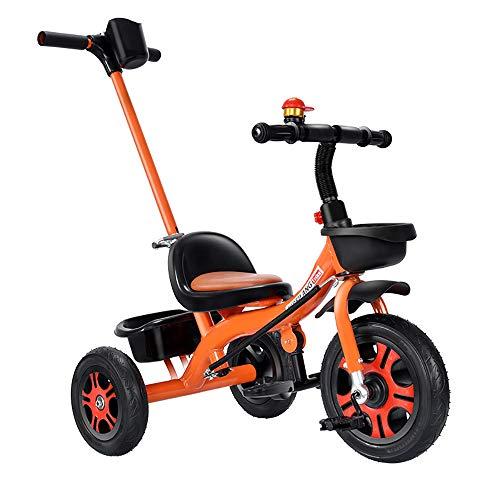 SSLC Baby Trikes voor 1 jaar oude kinderen driewieler voor 18 maanden tot 5 jaar met multifunctionele 3 wiel duwen Trikes duwhandvat leren fiets maximaal gewicht 30 kg