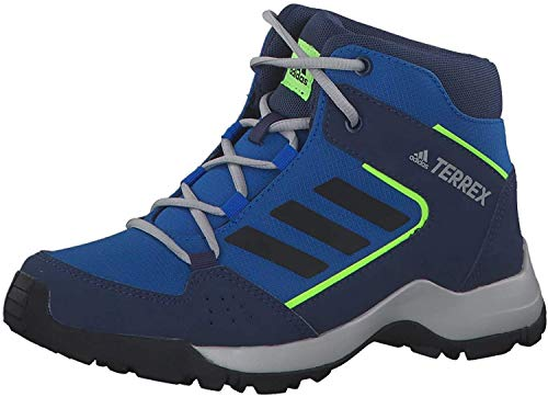 adidas Jungen Terrex Hyperhiker K Traillaufschuh, Multicolor Ruhm Blau Core Black Signal Grün, 36 2/3 EU