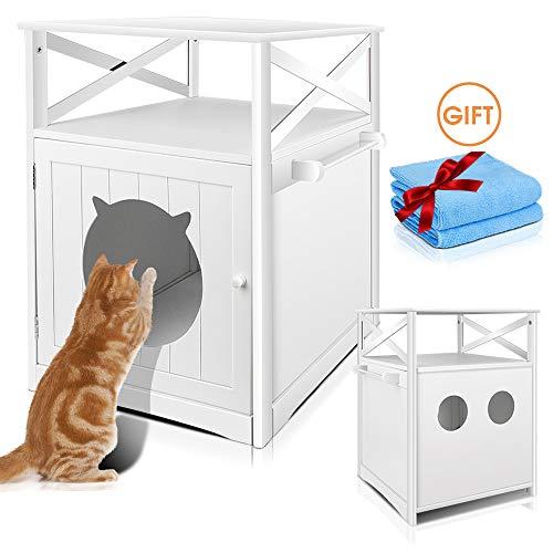 Masthome Mueble de Baño para el Arenero de Gatos