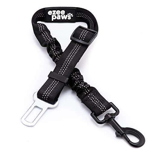 Ezee Paws Seat Belt For Dogs with Anti Shock Bungee Buffer Heavy Duty...