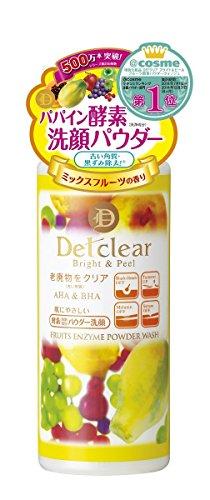 明色化粧品 DETクリア ブライト&ピール フルーツ酵素パウダーウォッシュ