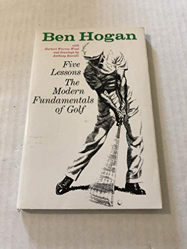 Ben Hogan's Five Lessons the Modern Fundamentals of Golf Paperback
