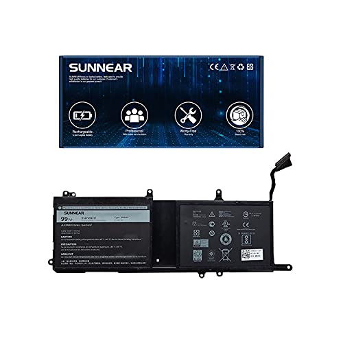 SUNNEAR 9NJM1 99Wh 8820mAh Battery Replacement for Dell Alienware 15 R3 R4 17 R4 R5 Series Laptop MG2YH 01D82 0546FF 44T2R HF250 11.4V