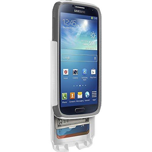 OtterBox Commuter Series Wallet, Schutzhülle mit Case für das Samsung Galaxy S4, weiß/grau